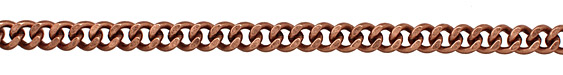 Antique Copper (plated) Large Curb Chain