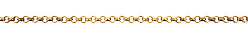 Antique Gold (plated) Rollo Chain