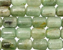 Green Kyanite Barrel 10-12x8mm