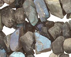 Labradorite Rough Nugget 7-12x16-21mm