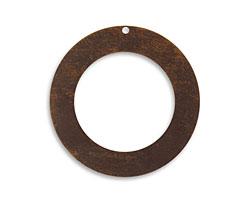 Vintaj Natural Brass Circle Frame 34mm