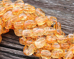 Citrine (A) Tumbled Nugget 12-14x8-10mm