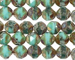 Czech Glass Oasis Chandelier Cut 8mm