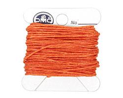 Orange Crush Irish Waxed Linen 4 ply