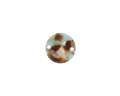 Zola Elements Mermaid Acetate Coin Link 14mm