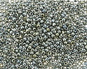 TOHO Galvanized Green Silver Round 11/0 Seed Bead