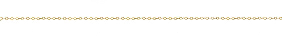14K Gold Filled Small Flat Cable Chain