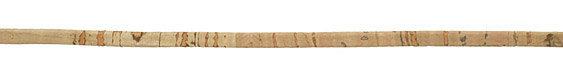 Natural Portuguese Cork Cord Flat 5mm