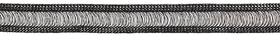 WireLuxe Obsidian Knitted Wire 20mm, 24 inches