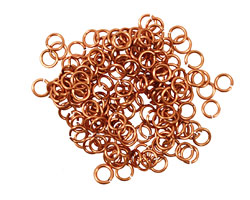 Artistic Wire Natural Chain Maille Jump Ring 3.57mm, 20 gauge