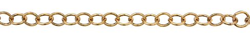 Antique Gold (plated) Cable Chain