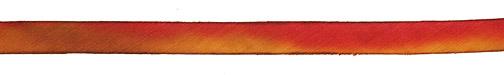 "Liquid Amber Hand Dyed 100% Silk Ribbon 7/16"""