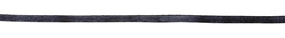 Midnight Blue Vintage Flat Leather Cord 5mm