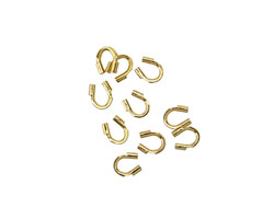 Gold (plated) Wire Protector 4mm