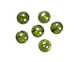 Fern Faceted Round 10mm