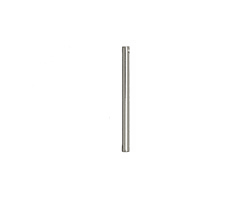 Silver (plated) Bar Drop 2x29mm