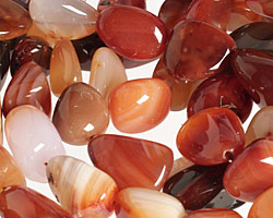 Carnelian (natural) Tumbled Nugget 18-26x16-21mm