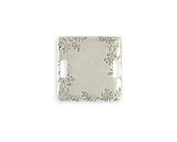 Vintaj Antique Sterling Silver (plated) Wisteria Vines blank 23mm