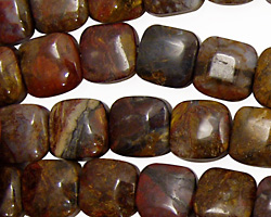 Pietersite Puff Square 10mm