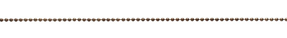 Vintaj Natural Brass Guilding Metal Ball Chain 2.4mm