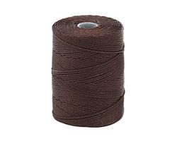 C-Lon Chocolate (.5mm) Bead Cord