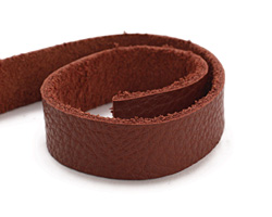 "TierraCast Rust Leather Strap 10"" x 1/2"""