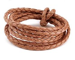 Saddle Braided Cotton Bolo Cord 4mm