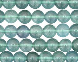 Blue Green Fluorite Round 8mm