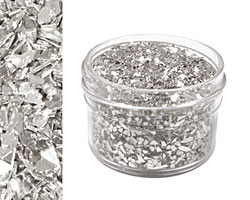 Silvery Moon Vintage Glass Glitter (Shards) 1 oz.