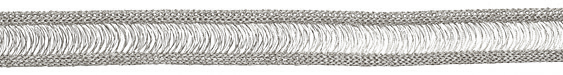 WireLuxe Mercury Knitted Wire 20mm, 24 inches