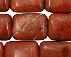 Red Jasper Thin Pillow 20x15mm
