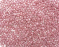 TOHO Marbled Opaque Pink/Pink Round 11/0 Seed Bead