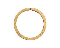 Nunn Design Antique Gold (plated) Key Ring 33mm
