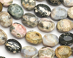Ocean Jasper Oval Nugget 18-20x13-15mm