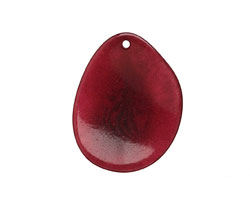 Tagua Nut Merlot Potato Chip 30-37x37-47mm