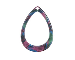 Zola Elements Moondance Acetate Open Drop Focal 22x31mm