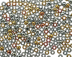 TOHO Galvanized Blue Gold Round 8/0 Seed Bead