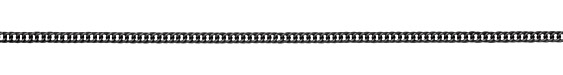 Gunmetal (plated) Woven Curb Chain