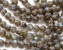 Labradorite (A - dark) Round 8mm