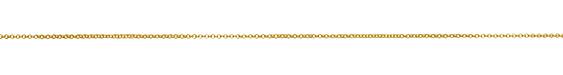Satin Hamilton Gold (plated) Tiny Double Rollo Chain, 25ft Spool