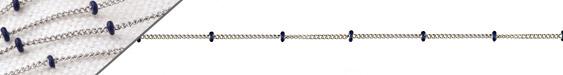 Stainless Steel Navy Satellite Chain