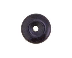 Blue Goldstone Donut 25mm
