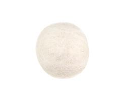 White Felt Round 20mm