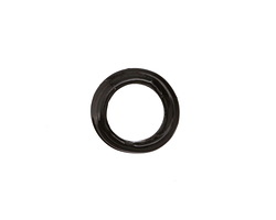 African Recycled Glass Jet Dogun Mini Ring 10-15mm