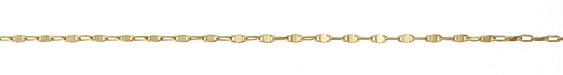 Zola Elements Satin Hamilton Gold (plated) Saturn Chain