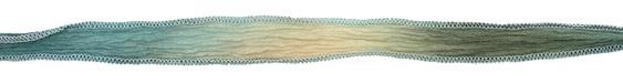 "Spring Fling Hand Dyed 100% Silk Ribbon 1/2"""