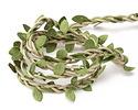 Braided Leaf & Moss Fairy Ribbon