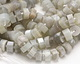 Moonstone Faceted Disc 5-7x11-12mm