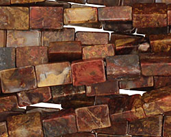 Pietersite Brick 9x6mm