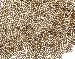 TOHO Frosted Bronze Round 15/0 Seed Bead